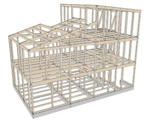 杉本様邸構造図